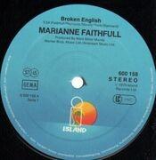 12'' - Marianne Faithfull - Broken English