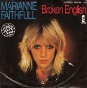 7'' - Marianne Faithfull - Broken English