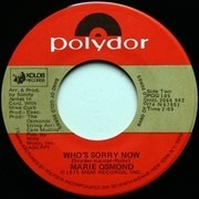 7inch Vinyl Single - Marie Osmond - Paper Roses / Who's Sorry Now