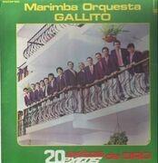 LP - Marimba Orquesta Gallito - 20 exitos de Oro - Marimba from Guatemala