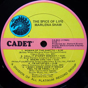 LP - Marlena Shaw - The Spice Of Life