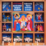 LP - Márta Sebestyén - Levente Szörényi - Jeles Napok = High Days (Karácsonyi Magyar Népdalok = Hungarian Christmas Folk Songs)