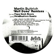 12'' - Martin Buttrich - Well Done Remixes - promo, stickered