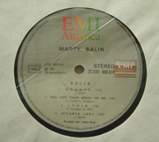 LP - Marty Balin - Balin