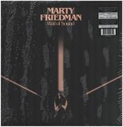 LP - Marty Friedman - Wall Of Sound - Ltd. Ed. White, Black Swirl Wax