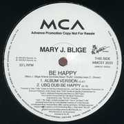 2 x 12'' - Mary J. Blige - Be Happy