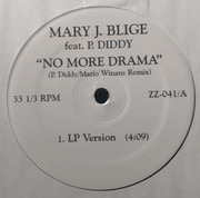 12inch Vinyl Single - Mary J. Blige Feat P. Diddy - No More Drama