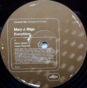 12inch Vinyl Single - Mary J. Blige - Everything