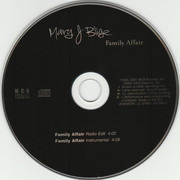 CD Single - Mary J. Blige - Family Affair