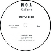 12'' - Mary J. Blige - Give Me You / Let No Man Put Asunder