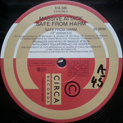 12inch Vinyl Single - Massive Attack - Safe From Harm
