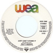 7'' - Matt Bianco - Just Can't Stand It