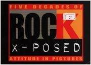 Book - Max Brown - Five Decades Of Rock X-Posed - Attitude in Pictures