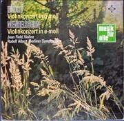 LP - Max Bruch , Felix Mendelssohn-Bartholdy - Joan Field - Violinkonzerte Von Bruch Und Mendelssohn