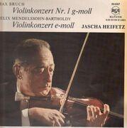 LP - Max Bruch , Mendelssohn-Bartholdy - Violinkonzert Nr.1 G-Moll,  E-Moll