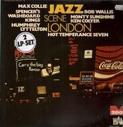 Double LP - Max Collie, Bob Wallis - Jazz Scene London