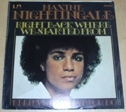 7'' - Maxine Nightingale - Right Back Where We Started From