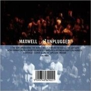 CD - Maxwell - Maxwell Mtv Unplugged