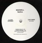 12'' - Maxwell - NoOne / For Lovers Only