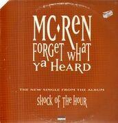 12inch Vinyl Single - MC Ren - Forget What Ya Heard