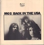 LP - Mc5 - Back In The USA. - UK 1st on Plum Labels
