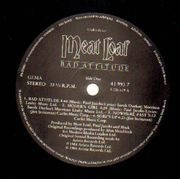 LP - Meat Loaf - Bad Attitude - CLUB EDITION