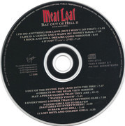 CD - Meat Loaf - Bat Out Of Hell II: Back Into Hell - Black