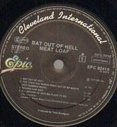 LP - Meat Loaf - Bat Out Of Hell - Club Edition
