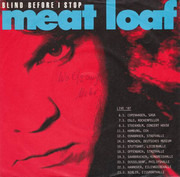 7inch Vinyl Single - Meat Loaf - Blind Before I Stop