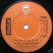 7'' - Meat Loaf - Bat Out Of Hell