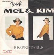 12inch Vinyl Single - Mel & Kim - Respectable - green marbled