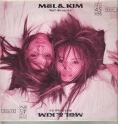 12inch Vinyl Single - Mel & Kim - That's The Way It Is - clear vinyl