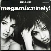 12inch Vinyl Single - Mel & Kim - Megamix: Ninety!