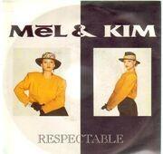 7inch Vinyl Single - Mel & Kim - Respectable