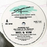 12inch Vinyl Single - Mel & Kim - Showing Out (Get Fresh At The Weekend) - Company Sleeve