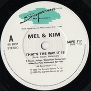 7inch Vinyl Single - Mel & Kim - That's The Way It Is