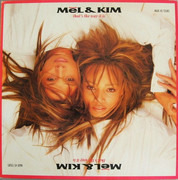 12inch Vinyl Single - Mel & Kim - That's The Way It Is