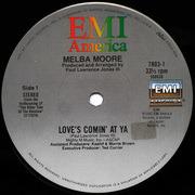 12'' - Melba Moore - Love's Comin' At Ya