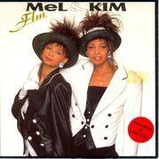 7'' - Mel & Kim - F.L.M. - Red Vinyl