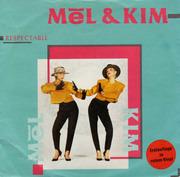 7'' - Mel & Kim - Respectable - Red Vinyl