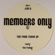 12'' - Members Only - The Four Track EP - White