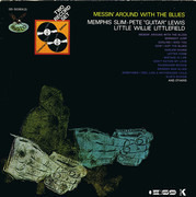 Double LP - Memphis Slim - Pete 'Guitar' Lewis - Little Willie Littlefield - Messin' Around With The Blues