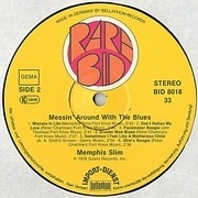 LP - Memphis Slim - Messin' Around With The Blues