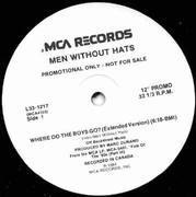 12'' - Men Without Hats - Where Do The Boys Go? - Promo