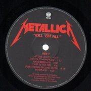 LP - Metallica - Kill 'Em All