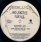 Double LP - Metallica - ...And Justice For All - 180 Gram