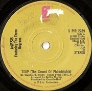 7'' - MFSB featuring The Three Degrees - TSOP (The Sound Of Philadelphia)