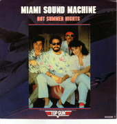 12inch Vinyl Single - Miami Sound Machine - Hot Summer Nights