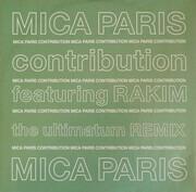 12inch Vinyl Single - Mica Paris Featuring Rakim - Contribution