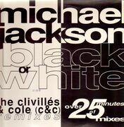 12inch Vinyl Single - Michael Jackson - Black Or White - Remixes